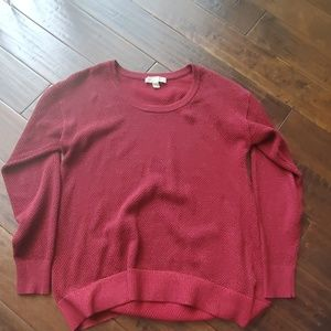 Micheal Kors red sweater